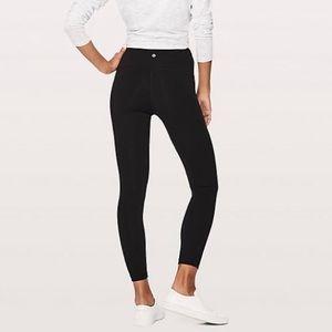 Black LULULEMON Full length workout leggings